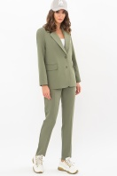 офисный пиджак цвета фуксии. Пиджак Сабера д/р. Цвет: хаки купить