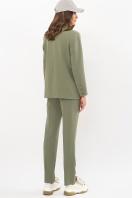 офисный пиджак цвета фуксии. Пиджак Сабера д/р. Цвет: хаки в интернет-магазине