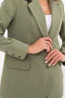 офисный пиджак цвета фуксии. Пиджак Сабера д/р. Цвет: хаки в Украине