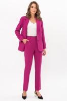 офисный пиджак цвета фуксии. Пиджак Сабера д/р. Цвет: фуксия цена