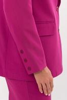 офисный пиджак цвета фуксии. Пиджак Сабера д/р. Цвет: фуксия в Украине