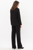 черный деловой пиджак. Пиджак Элейн д/р. Цвет: черный в интернет-магазине
