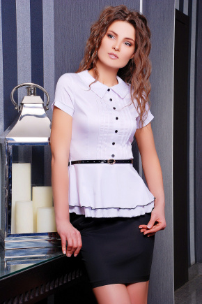 блуза Богдана к/р. Цвет: белый