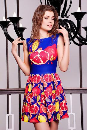 Гранат платье Мия-1 б/р. Цвет: принт