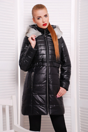куртка Glem. Цвет: черный