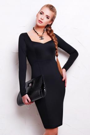 платье Адриана д/р. Цвет: черный