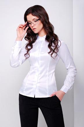 блуза Норма2 д/р. Цвет: белый