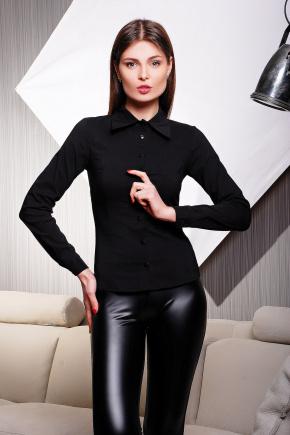 блуза Марта д/р. Цвет: черный