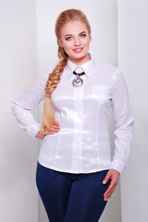 блуза Марта2-Б д/р. Цвет: белый