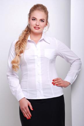 блуза Марта-Б д/р. Цвет: белый