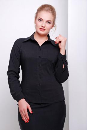 блуза Марта-Б д/р. Цвет: черный
