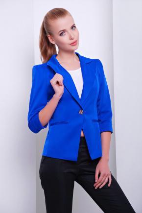 пиджак Леонора-М. Цвет: электрик