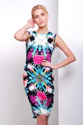 Тропики платье Калея-1 б/р. Цвет: принт