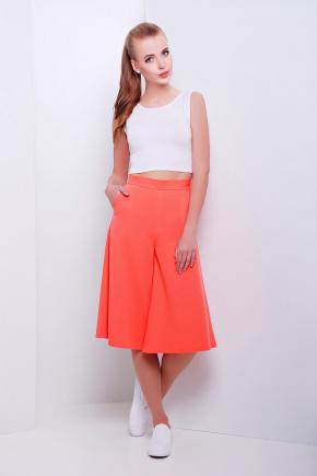брюки-юбка Магика. Цвет: св. персиковый