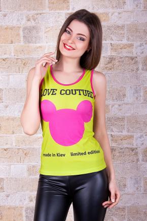 Love Couture Майка-1В. Цвет: принт