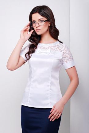 блуза Илона к/р. Цвет: белый