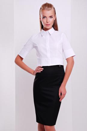 блуза Тэсла к/р. Цвет: белый