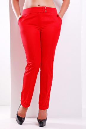 брюки Хилори-Б. Цвет: красный