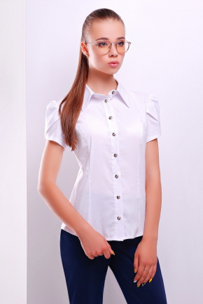 блуза Юдита к/р. Цвет: белый