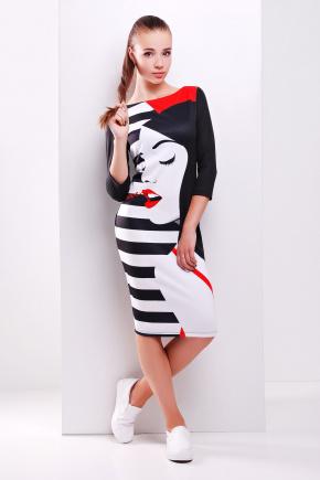 Girl платье Лоя-2Ф д/р. Цвет: принт