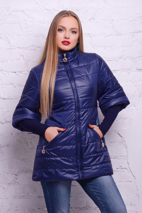 куртка Лисси-Б. Цвет: синий