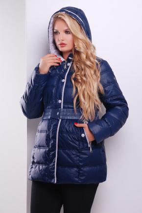 Куртка 6087. Цвет: темно синий