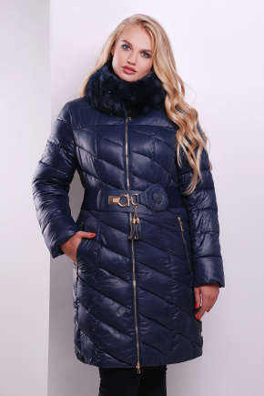 Куртка 15-129. Цвет: темно синий