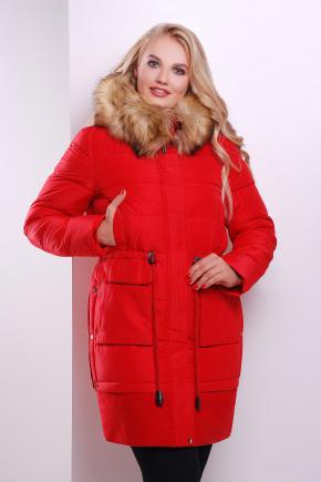 Куртка 1526. Цвет: красный