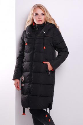 Куртка 203-1. Цвет: черный