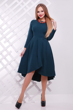 платье Лика д/р. Цвет: изумрудный
