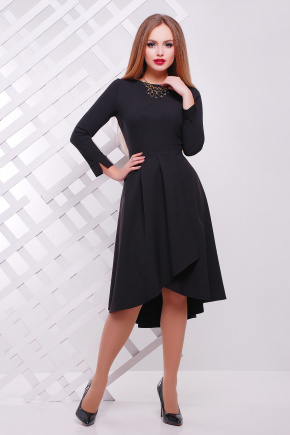 платье Лика д/р. Цвет: черный