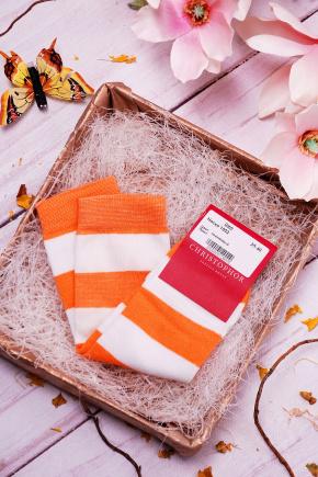 Носки 1002. Цвет: оранжевый