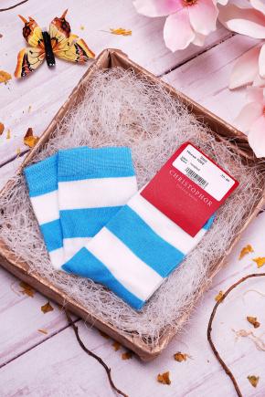 Носки 1002. Цвет: голубой