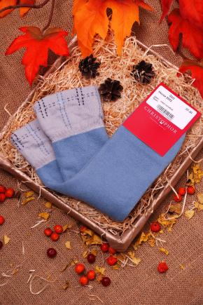Носки 2002. Цвет: серо-голубой