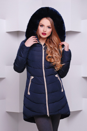 Куртка 891. Цвет: темно-синий