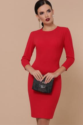 платье Модеста д/р. Цвет: красный