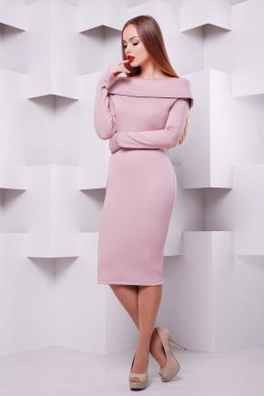 платье Грация д/р. Цвет: пудра