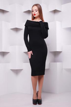 платье Грация д/р. Цвет: черный