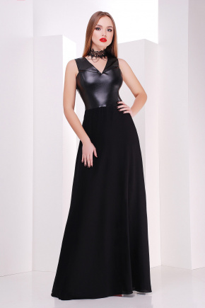 платье Финикс б/р. Цвет: черный