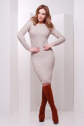 Платье 135. Цвет: капучино