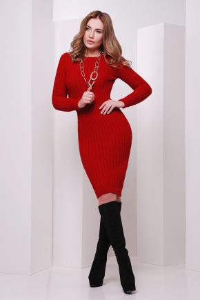 Платье 135. Цвет: красный
