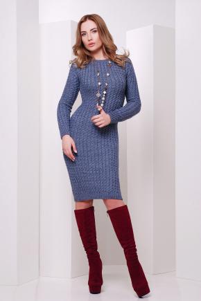 Платье 135. Цвет: светлый джинс