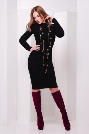 Платье 135. Цвет: черный