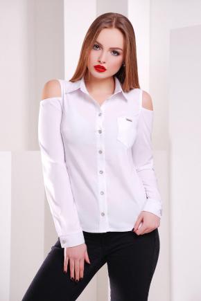 блуза Палерма д/р. Цвет: белый