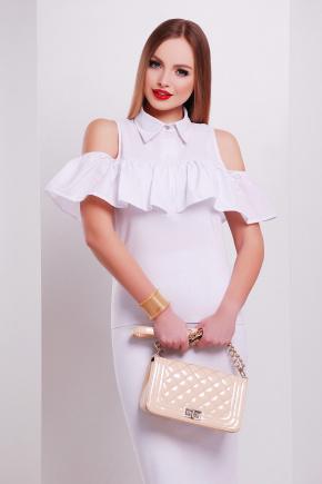 блуза Калелья б/р. Цвет: белый