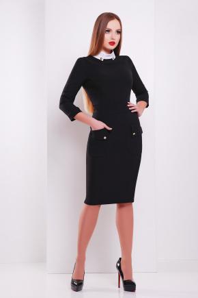 платье Андрия д/р. Цвет: черный