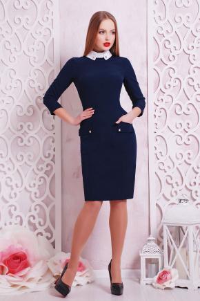 платье Андрия д/р. Цвет: темно синий