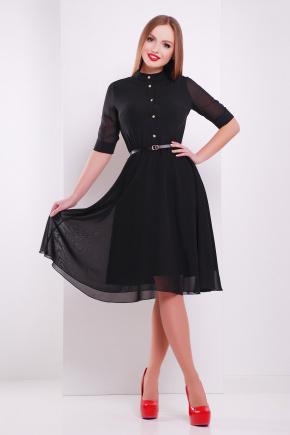 платье Лавена к/р. Цвет: черный
