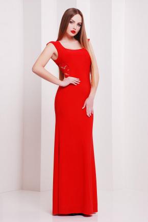платье Роберта б/р. Цвет: красный