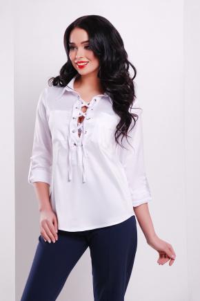 блуза Таора д/р. Цвет: белый